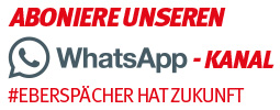 WhatsApp Newslatter #EBERSPÄCHERHATZUKUNFT#IGMNK